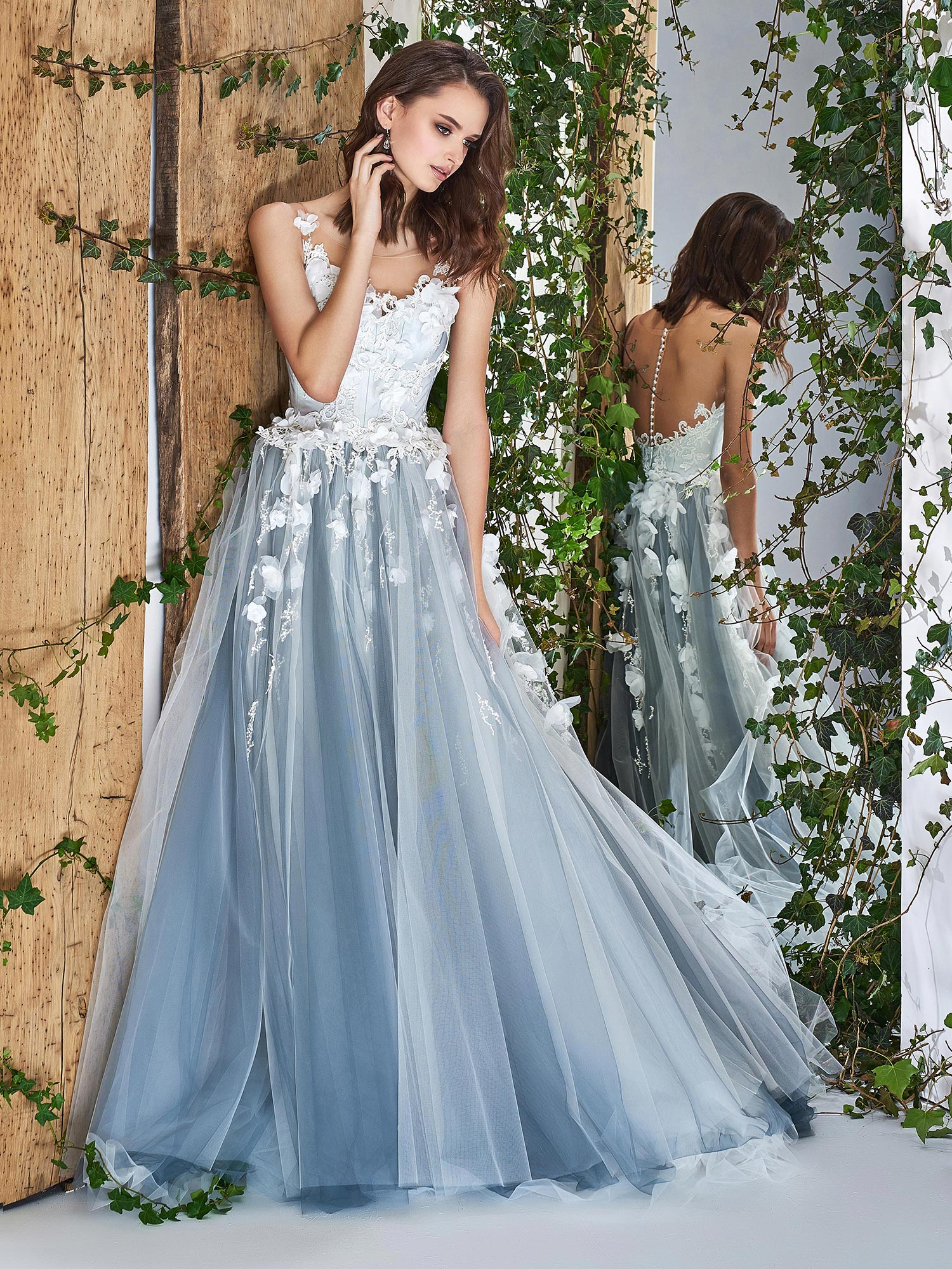 Famous Wedding Dress Illusion Neckline Frieze - All Wedding Dresses ...